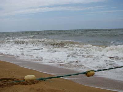 пляж_волны
